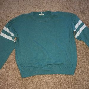 Teal Forever 21 Sweater